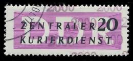 DDR DIENST VERWALTUNGSPOST-A ZKD Nr 15 N2000 Gestempelt X1D774A - Oficial