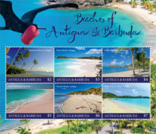 Antigua And Barbuda 2019  Beaches Of  Antigua And Barbuda  I201901 - Antigua And Barbuda (1981-...)