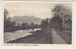 Rosenheim Obby. - Partie An Der Mangfall Mit Wendelstein - 1940 Feldpost - Rosenheim