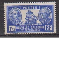 NOUVELLE CALEDONIE         N°  YVERT  156 B   NEUF AVEC CHARNIERES       ( CHARN 4/11 ) - Unused Stamps