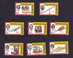 Antigua & Barbuda 1992 Inventors And Pioneers  ,James Watt , Louis  Braille SCOTT No.1603-1606   I202106 - Antigua And Barbuda (1981-...)