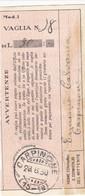 Carpinone (Campobasso) Frazionario 15-19 Del 1930 - Marcofilía