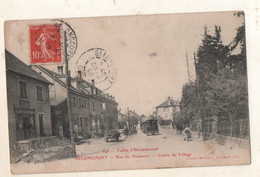 Seloncourt Rue Du Tramway Centre Du Village - Other Municipalities