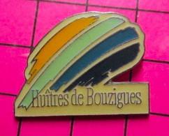 221 Pin's Pins / Beau Et Rare : Thème ALIMENTATION / FRUITS DE MER HUITRES DE BOUZIGUES - Alimentazione