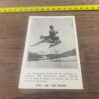 1932 PATI1 Annemarie Dietze Championne Berlinoise De Patinage Artistique As Du Patin - Zonder Classificatie