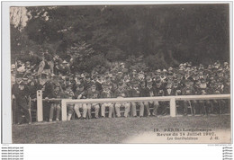 PARIS LONGCHAMPS REVUE DU 14 JUILLET 1907 LES GARIBALDIENS TBE - Unclassified