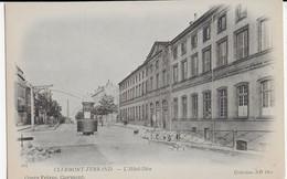 CLERMONT-FERRAND - L'HOTEL DIEU - CARTE PRECURSEUR - DEBUT 1900 - Clermont Ferrand