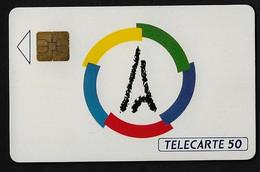 Télécarte Sommet De Chaillot 1991 - Ad Uso Privato