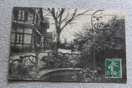 Cpa 1908, Caen, Restaurant De La Tour Des Gens D'armes, Calvados 14 - Caen