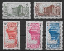 Nouvelle Calédonie - Série N° 175 à 179 * *  - Cote : 150,00 € - Nuevos