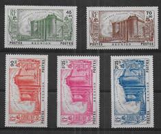 Réunion - Série N° 158 à 162 * *  - Cote : 131,25 € - Nuovi