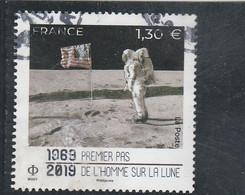 FRANCE 1969 - 2019 PREMIER PAS DE L HOMME SUR LA LUNE OBLITERE YT 5340 - Used Stamps
