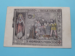 BOND V. H. HEILIG HART - S. AMANDUS PAROCHIA > Anno 19?? ( Zie / Voir Photo ) ! - Sin Clasificación