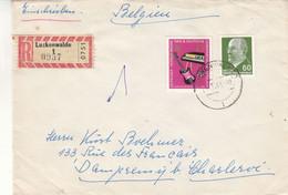 Allemagne - République Démocratique - Lettre Recom De 1965 - Oblit Luckenwalde - Musique - Guitare - Piano - Brieven En Documenten