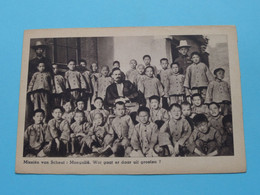 Missiën Van SCHEUT : MONGOLIË ( Druk. De Beurs Antwerp ) Anno 19?? ( See/voir Photo ) ! - Missions