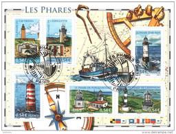 BF 114 Oblitéré 1er Jour Les Phares Gomme Neuve** Cote 15€ - Used
