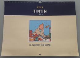 AGENDA TINTIN 1998 - 19 X 22 Cm Cartonné. LE SCEPTRE D'OTTOKAR - Other