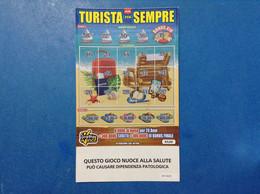 ITALIA BIGLIETTO LOTTERIA GRATTA E VINCI USATO € 5,00 NEW TURISTA PER SEMPRE LOTTO 3023 VARIANTE SENZA LOGO A TIMONE - Billetes De Lotería