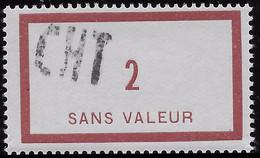 FICTIF N° 18 ** Surcharge CHT Pour CHiffre Taxe De Marseille - Phantom