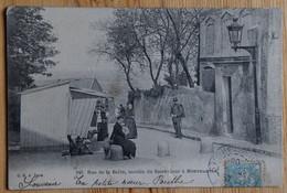 Paris - Rue De La Barre - Montée Du Sacré-Coeur à Montmartre - Animée - Déchirure Bord Bas - (n°20561) - District 18