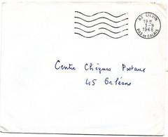 PAS De CALAIS - Dépt N° 62 = LIEVIN 1968 = FLAMME Codée = SECAP Muette '5 Lignes Ondulées' FRANCHISE - Mechanical Postmarks (Advertisement)