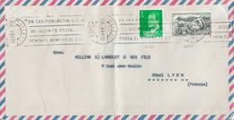 ESPAGNE AFFRANCHISSEMENT COMPOSE SUR LETTRE POUR LA FRANCE 1979 - 1971-80 Cartas