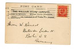 Postcard London Stemp Company  1914 To Berlin - Non Classificati