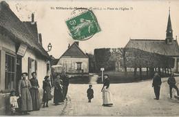 CPA - Villiers-le-Morhier - Place De L'Église - Altri Comuni