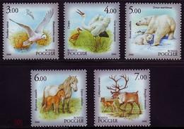 RUSSIE/RUSSIA/RUSSLAND/ROSJA 2006 MI.1372-76** ,YVERT... - Horses