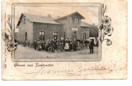"""Gruss Aus Kantrschin - Hôtel Restaurant: """"Gasthof Zur Quelle, Leo Selonke"""" - 8453 - Verlag: Bruno Rieband, Lauenburg - Lauenburg"""