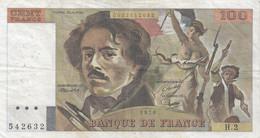 100 Francs - Delacroix - Fayette 68 - 1978 - H2 - TB (Voir Photos) - 100 F 1978-1995 ''Delacroix''