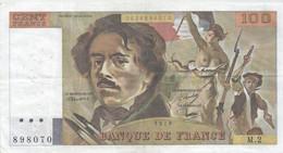 100 Francs - Delacroix - Fayette 68 - 1978 - M2 - TB (Voir Photos) - 100 F 1978-1995 ''Delacroix''