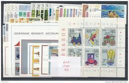 DDR Jahrgang 1980 ** Komplett Mi. 50,- - Unused Stamps