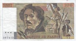 100 Francs - Delacroix - Fayette 68 - 1978 - Z2 - TB (Voir Photos) - 100 F 1978-1995 ''Delacroix''