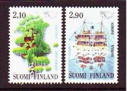 1991. Finland. Norden. MNH. Mi. Nr. 1142-43. - Nuevos