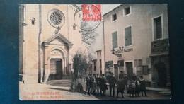 84 - ST. SATURNIN-d'APT PLACE DE LA MAIRIE - LA MAIRIE - Andere Gemeenten