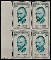 1956 FRANCE N** 1087 MNH Bloc De 4 - Nuevos