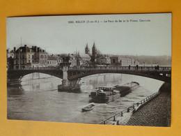 MELUN -- Péniche Sous Le Pont De Fer - Embarcaciones