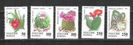 RUSSIE/RUSSIA/RUSSLAND/ROSJA 1994 MI.363-67**,ZAG.144-48,YVERT.6052-56., - Unused Stamps