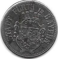 *notgeld  Furth Bayern 10 Pfennig 1917 Fe  145.3d - Other