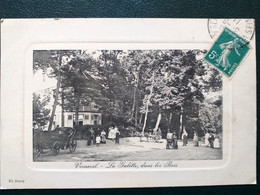 78 , Verneuil , La Galette  ,dans Les Bois , 1911     ..circulée  Timbrée - Verneuil Sur Seine