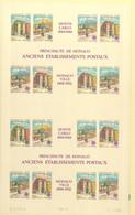 Monaco Europa 1990 - 2 Blocks Ungezähnt U. Ungeteilt, 2 Blocs Non Dentelés Et Non Séparés - 1990