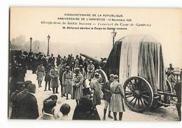 ELD Très Rare M MILLERAND Derrière LE CORPS Du SOLDAT INCONNU 11 NOVEMBRE 1920  PARIS  E LE DELEY N301 L D - Inaugurazioni