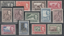 Malaysia - Selangor - 664 ** 1957 – Soggetti Diversi, N. 67/77. SPL - Selangor