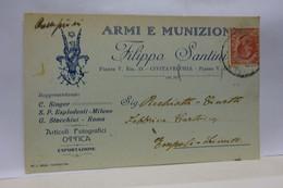 CIVITAVECCHIA   --- ROMA  --  FILIPPO SANTINI   -- MATERIALI ESPLODENTI -- SINGER DA CUCIRE - Civitavecchia