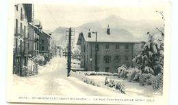 74*  ST GERVAIS    Rue Gontard - Saint-Gervais-les-Bains
