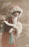 FEMMES - FRAU - LADY - Jolie Carte Fantaisie   Femme Sainte Catherine - Women