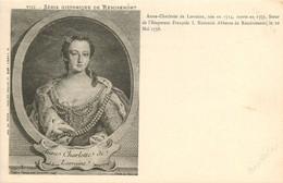 88* REMIREMONT   Anne Charlotte De Lorraine - Remiremont