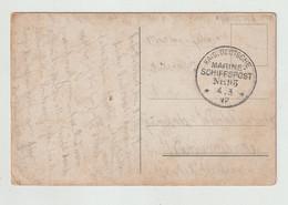 """Deutsches Reich - 1917 Karte (AK Abb. Matrose) K1 """"KAIS.DEUTSCHE MARINE-SCHIFFSPOST NR. 93"""" (139) - Covers & Documents"""