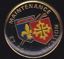 71265- Pin's. Maintenance Et Communications. - Informatica
